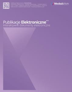 Prezentacja Media-work oferta Publikacje Elektroniczne FRONT