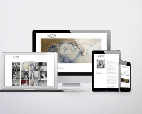 strony internetowe dla artystów
