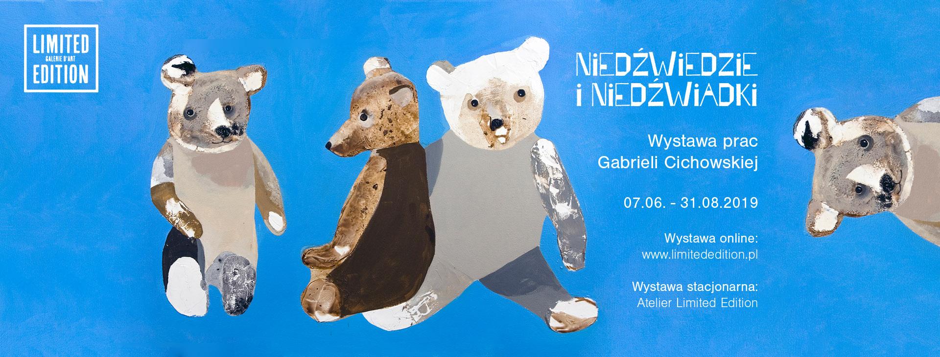 FB - cover, wystawa Niedźwiedzie i Niedźwiadki
